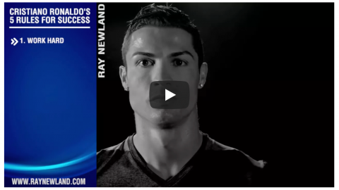 Cristiano Ronaldo Top Tips To Success In 5 Minutes